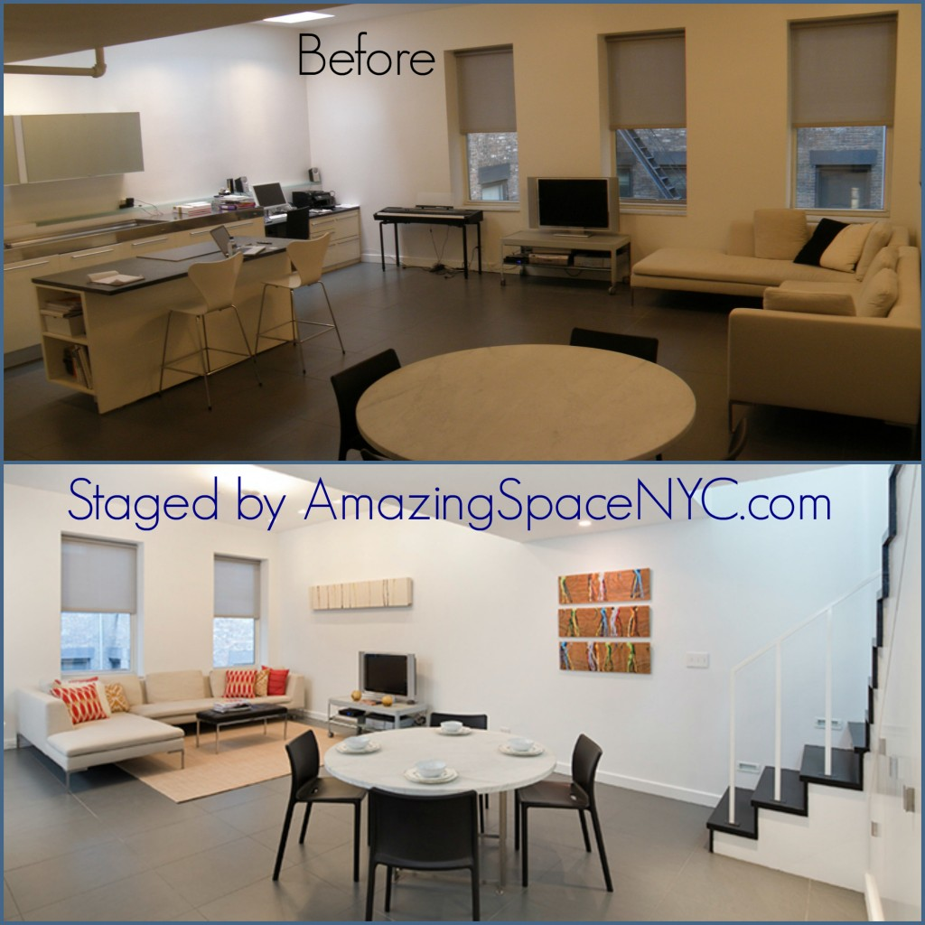Home Staging NYC's most cold, barren spaces