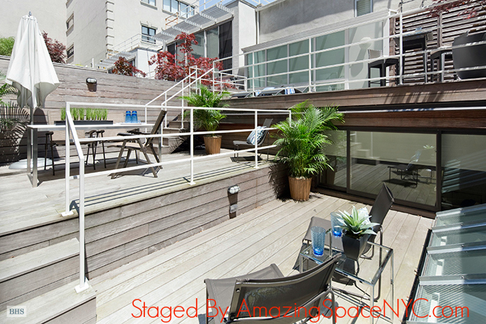 Decks on NYC home staging