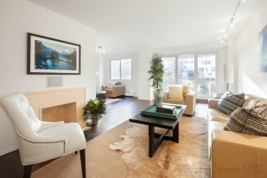 Home Staging in NYC Living Room After the Magic!
