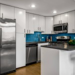 Finished Kitchen in Brooklyn staging