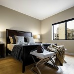 Master BEdroom Staged by Amazing Space NYC