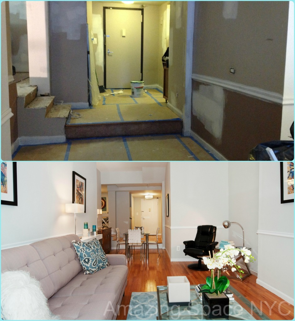 repainting is a home staging nyc tactic
