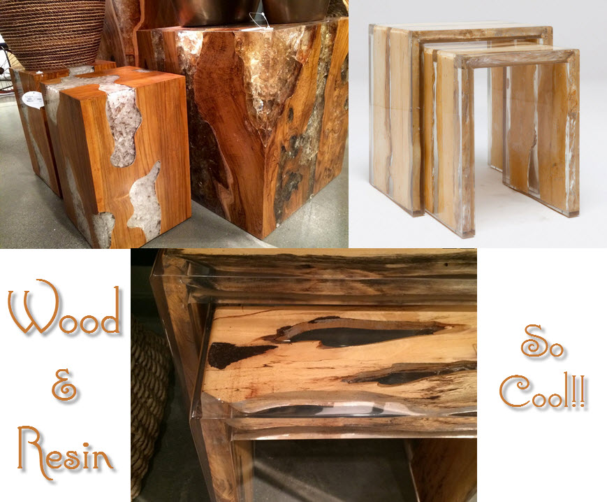 2015 Design Trends - Wood and Resin