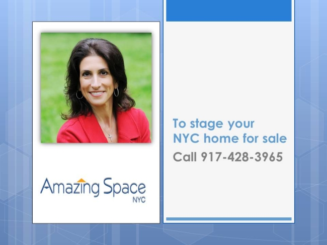 Call Debbie for your staging consult
