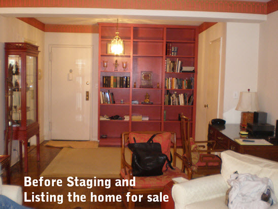 apartment staging NYC