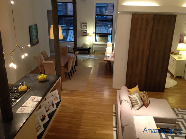 Tribeca Staging by Amazing Space NYC