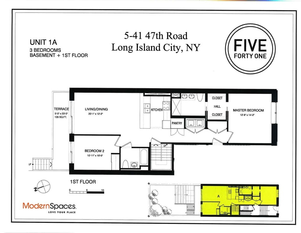 Long Island city Duplex with staging