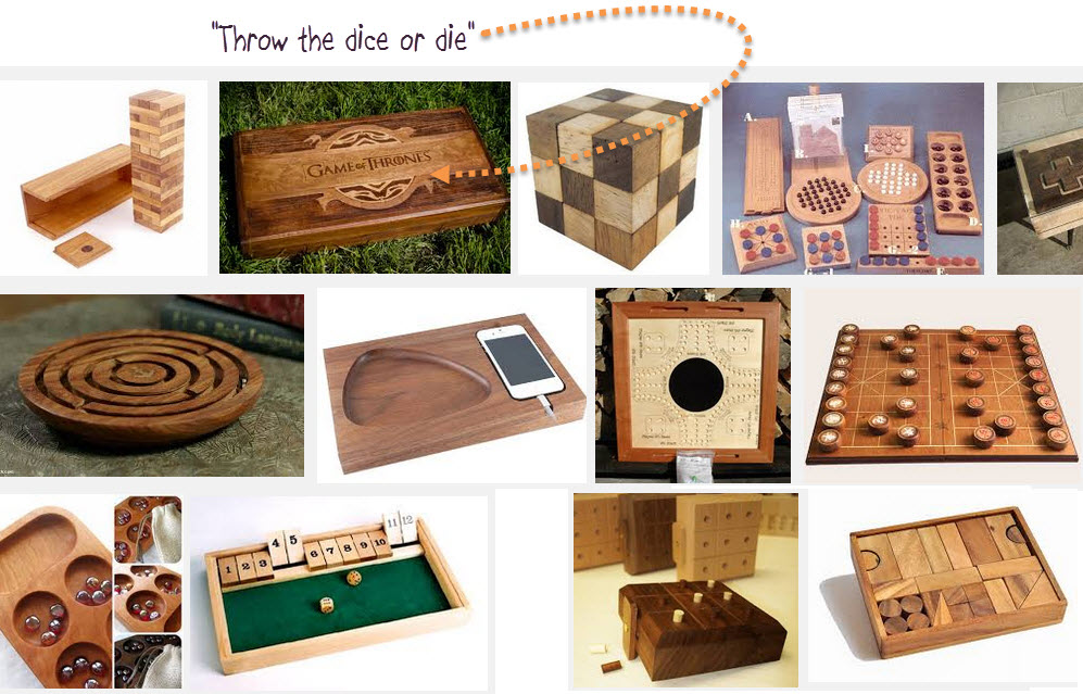 Trends in 2015 gift giving - wooden games