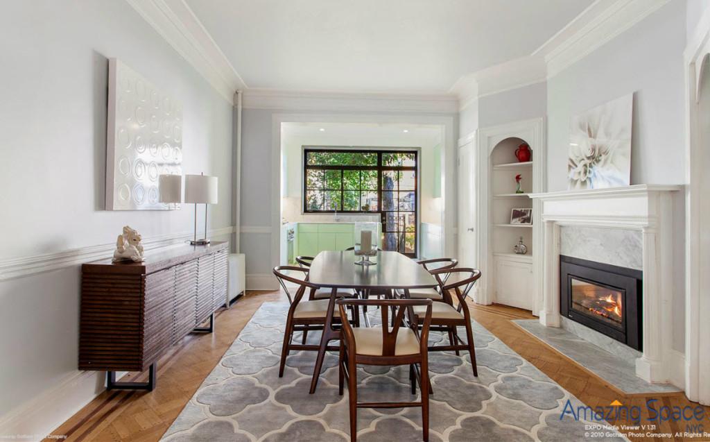 Midcentury modern dining room