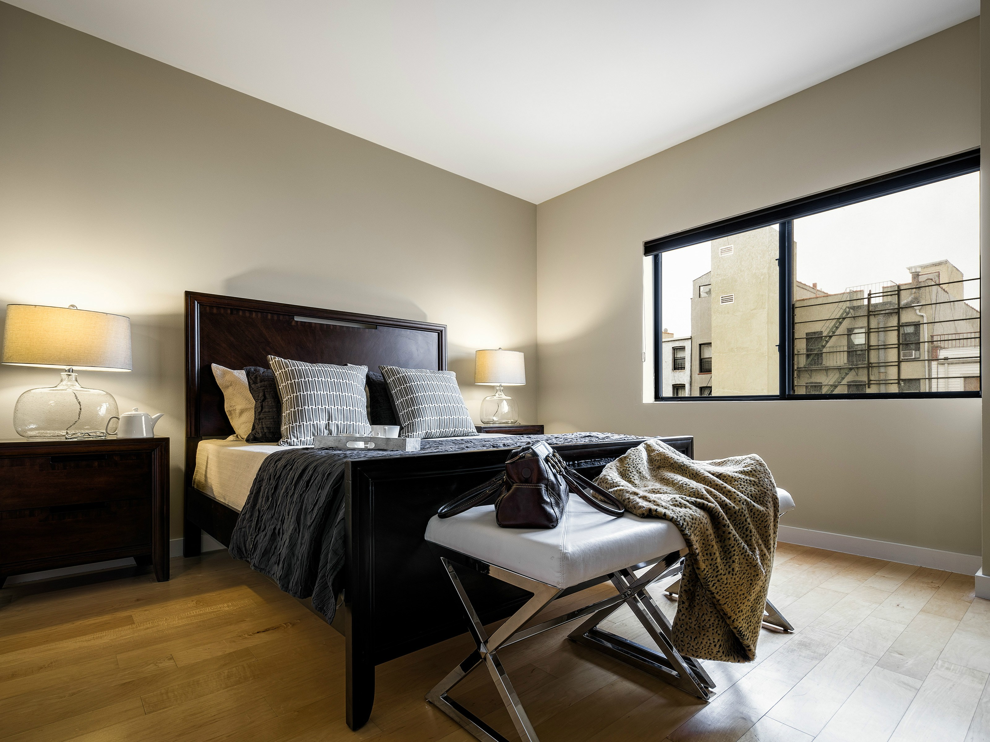 Brooklyn Condo Master Bedroom | Amazing Space NYC - Home Staging NYC